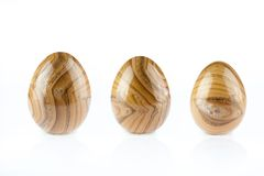 Μορφή αυγών αχατών Στοκ Εικόνες