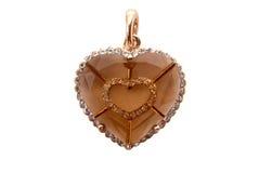 μορφή καρδιών διαμαντιών Στοκ φωτογραφίες με δικαίωμα ελεύθερης χρήσης