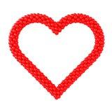 μορφή καρδιών πλαισίων μπαλονιών ελεύθερη απεικόνιση δικαιώματος