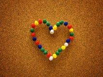 Μορφή καρδιών Στοκ εικόνα με δικαίωμα ελεύθερης χρήσης