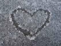 Μορφή καρδιών σχεδίων Στοκ φωτογραφίες με δικαίωμα ελεύθερης χρήσης