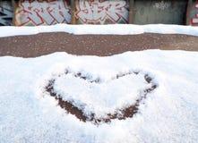 Μορφή καρδιών σχεδίων Στοκ εικόνα με δικαίωμα ελεύθερης χρήσης