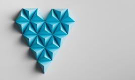 Μορφή καρδιών Minimalistic Στοκ φωτογραφία με δικαίωμα ελεύθερης χρήσης