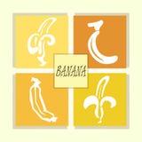 Μορφή μπανανών Στοκ φωτογραφία με δικαίωμα ελεύθερης χρήσης