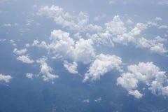 Μορφή ουρανού το αεροπλάνο Στοκ Εικόνα