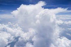 Μορφή ουρανού το αεροπλάνο Στοκ εικόνες με δικαίωμα ελεύθερης χρήσης