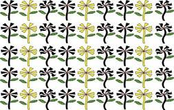 Μορφή λουλουδιών υποβάθρου εικονογράφων Στοκ Εικόνα