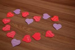 Μορφή της καρδιάς μου Στοκ Εικόνες