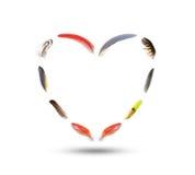 Μορφή της καρδιάς Στοκ φωτογραφία με δικαίωμα ελεύθερης χρήσης