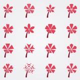 Μορφή του λουλουδιού Στοκ φωτογραφίες με δικαίωμα ελεύθερης χρήσης