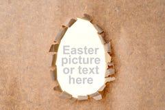 μορφή τρυπών αυγών Στοκ φωτογραφία με δικαίωμα ελεύθερης χρήσης