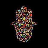 Μορφή Hamsa Στοκ φωτογραφία με δικαίωμα ελεύθερης χρήσης