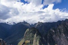 Μορφή Machu Pichu άποψης Στοκ Φωτογραφίες