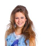 Μορφασμός κοριτσιών Στοκ φωτογραφία με δικαίωμα ελεύθερης χρήσης