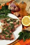 μοσχαρίσιο κρέας μπριζολών Στοκ Εικόνες