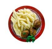 Μοσχαρίσιο κρέας Polpette Στοκ εικόνες με δικαίωμα ελεύθερης χρήσης