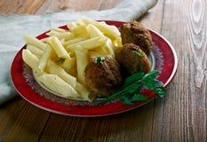 Μοσχαρίσιο κρέας Polpette Στοκ Φωτογραφίες