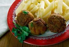 Μοσχαρίσιο κρέας Polpette Στοκ Εικόνες