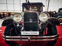 ΜΟΣΧΑ - 9 ΜΑΡΤΊΟΥ 2018: Studebaker Πρόεδρος 1928 στην έκθεση Στοκ εικόνες με δικαίωμα ελεύθερης χρήσης