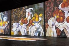 ΜΟΣΧΑ, ΡΩΣΙΑ: Έκθεση πολυμέσων σε ArtPlay Στοκ φωτογραφία με δικαίωμα ελεύθερης χρήσης