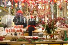ΜΟΣΧΑ, ΡΩΣΙΑ, δίκαιος υπαίθριος Χριστουγέννων στη Μόσχα στοκ φωτογραφίες