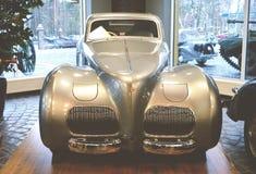 ΜΟΣΧΑ, ΡΩΣΙΑ - 6 ΙΑΝΟΥΑΡΊΟΥ 2018: Vadim Zadorozhny Technology Museum, αυτοκίνητο Alfa Romeo πρότυπο 6C2500 SS Στοκ Εικόνες