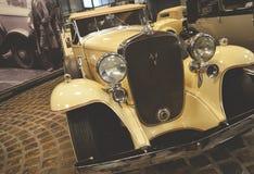 ΜΟΣΧΑ, ΡΩΣΙΑ - 6 ΙΑΝΟΥΑΡΊΟΥ 2018: Vadim Zadorozhny Technology Museum, αυτοκίνητο Cadillac V16 Στοκ φωτογραφίες με δικαίωμα ελεύθερης χρήσης