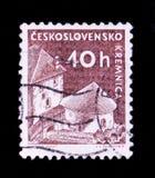 ΜΟΣΧΑ, ΡΩΣΙΑ - 20 ΙΟΥΝΊΟΥ 2017: Ένα γραμματόσημο που τυπώνεται σε Czechoslovaki Στοκ φωτογραφία με δικαίωμα ελεύθερης χρήσης
