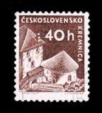 ΜΟΣΧΑ, ΡΩΣΙΑ - 20 ΙΟΥΝΊΟΥ 2017: Ένα γραμματόσημο που τυπώνεται σε Czechoslovaki Στοκ εικόνες με δικαίωμα ελεύθερης χρήσης