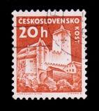 ΜΟΣΧΑ, ΡΩΣΙΑ - 20 ΙΟΥΝΊΟΥ 2017: Ένα γραμματόσημο που τυπώνεται σε Czechoslovaki Στοκ Φωτογραφίες