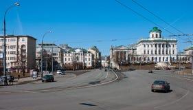ΜΟΣΧΑ, ΡΩΣΙΑ - 13 04 2015 Το παλαιό μέγαρο του δέκατου όγδοου αιώνα - το σπίτι Pashkov Αυτήν την περίοδο, η ρωσική κρατική βιβλιο Στοκ φωτογραφίες με δικαίωμα ελεύθερης χρήσης