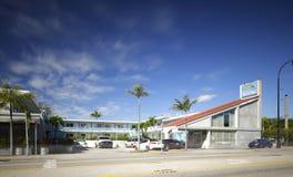 Μοτέλ πανδοχείων Biscayne στοκ εικόνα
