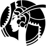 Μοτίβο του Art Deco Στοκ φωτογραφία με δικαίωμα ελεύθερης χρήσης