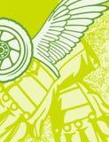 μοτοσικλέτα ανασκόπησης Στοκ εικόνες με δικαίωμα ελεύθερης χρήσης