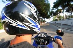 μοτοσικλέτα ατόμων στοκ εικόνες