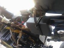 Μοτοσικλέτα ηλεκτρική Στοκ Φωτογραφίες