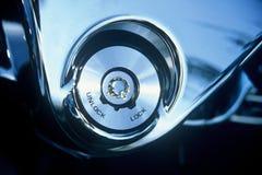 μοτοσικλέτα κλειδωμάτων Στοκ Φωτογραφίες