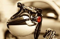 μοτοσικλέτα κρανών Στοκ Εικόνες