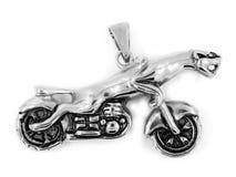 Μοτοσικλέτα κρεμαστών κοσμημάτων - ανοξείδωτο στοκ εικόνες