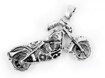 Μοτοσικλέτα κρεμαστών κοσμημάτων κοσμήματος - ανοξείδωτο στοκ φωτογραφία
