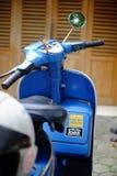 Μοτοσικλέτα μηχανικών δίκυκλων Vespa στοκ εικόνα με δικαίωμα ελεύθερης χρήσης