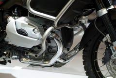 μοτοσικλέτα μηχανών λεπτομέρειας Στοκ Φωτογραφίες