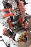 μοτοσικλέτα μηχανών Στοκ εικόνα με δικαίωμα ελεύθερης χρήσης