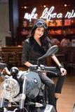Μοτοσικλέτα της BMW στη διεθνή Ταϊλάνδη έκθεση αυτοκινήτου 2017 της Μπανγκόκ Στοκ Φωτογραφία