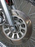 μοτοσικλέτα φρένων Στοκ Φωτογραφία