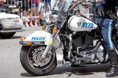 μοτοσικλέτα nypd Στοκ Εικόνες