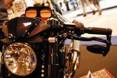 Μοτοσικλέτα ζωντανή Στοκ Εικόνες