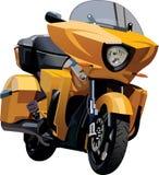 Μοτοσικλέτα σκληρό _vector1 Στοκ φωτογραφία με δικαίωμα ελεύθερης χρήσης