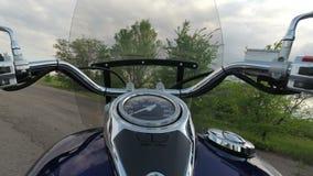 Μοτοσικλέτα στατική απόθεμα βίντεο