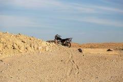 Μοτοσικλέτα στην κοιλάδα των βασιλιάδων Στοκ φωτογραφία με δικαίωμα ελεύθερης χρήσης